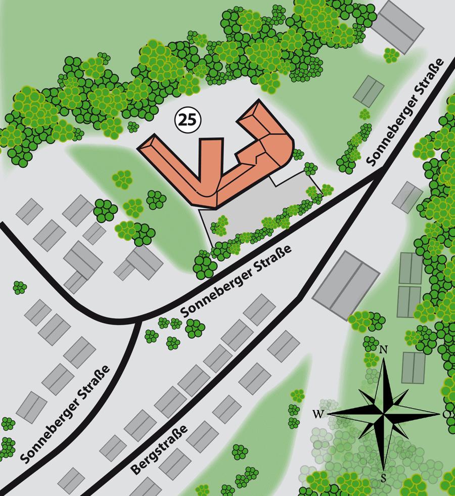 Betreutes Wohnen in der Sonnebergerstr. 25