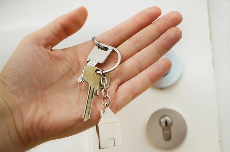 Verlust von Schlüsseln