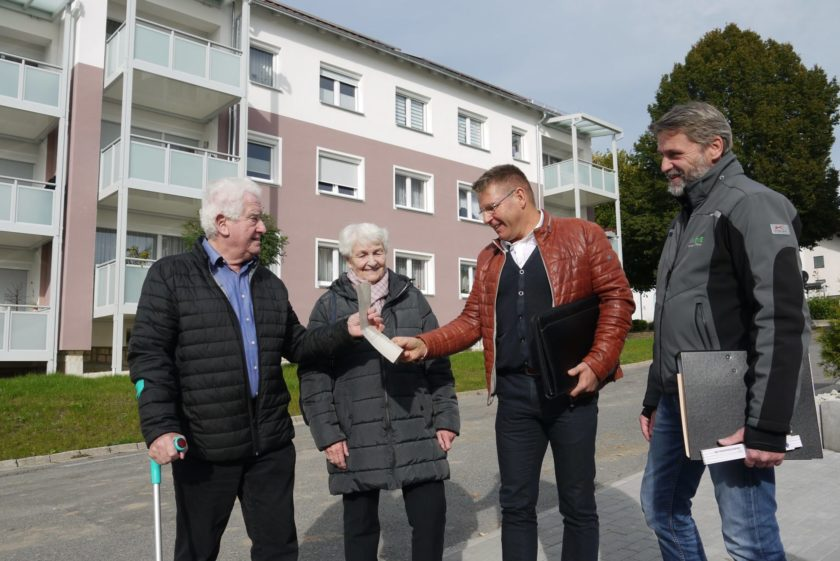 Hr. Gerstl und Familie Zier
