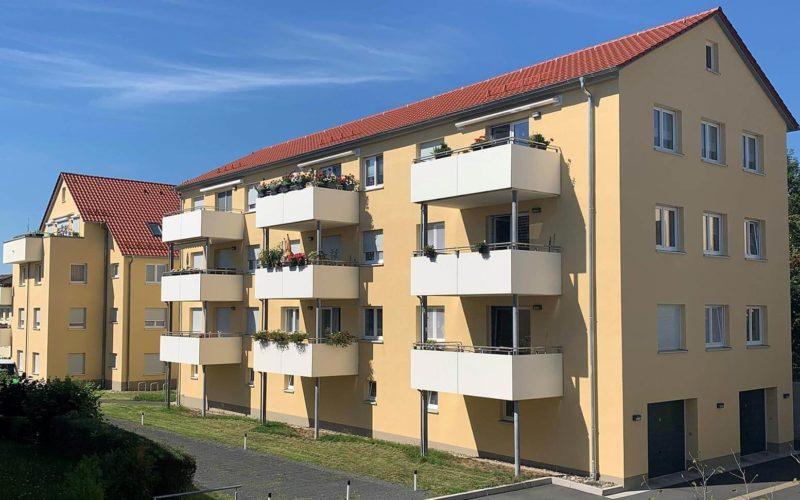 Wohnanlage-Siedlung-Sued
